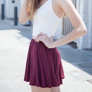 Incredibly soft BM skater skirt